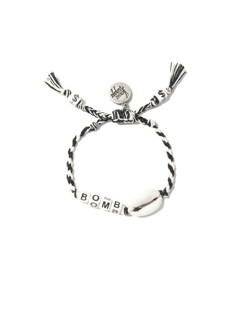 BOMBSHELL BRACELET (BLACK AND WHITE)