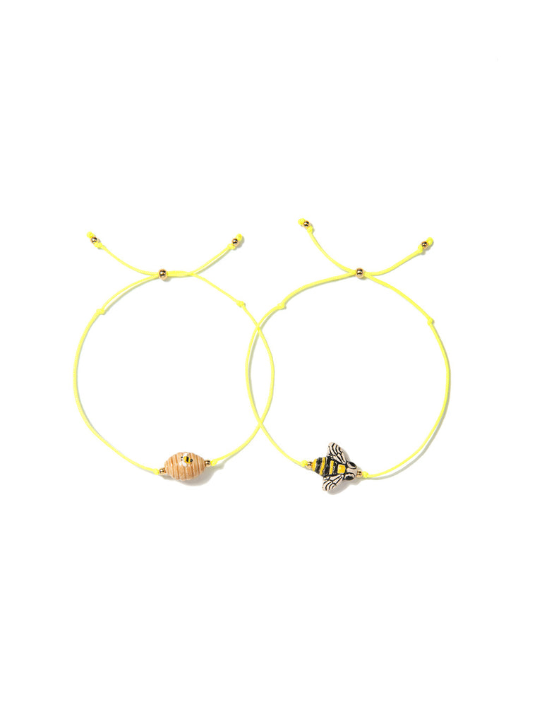 HONEY BEE BRACELET SET - Venessa Arizaga