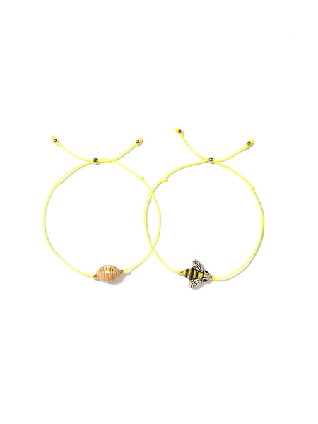 HONEY BEE BRACELET SET