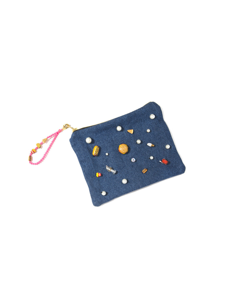 SNACK ATTACK CLUTCH BAG - Venessa Arizaga