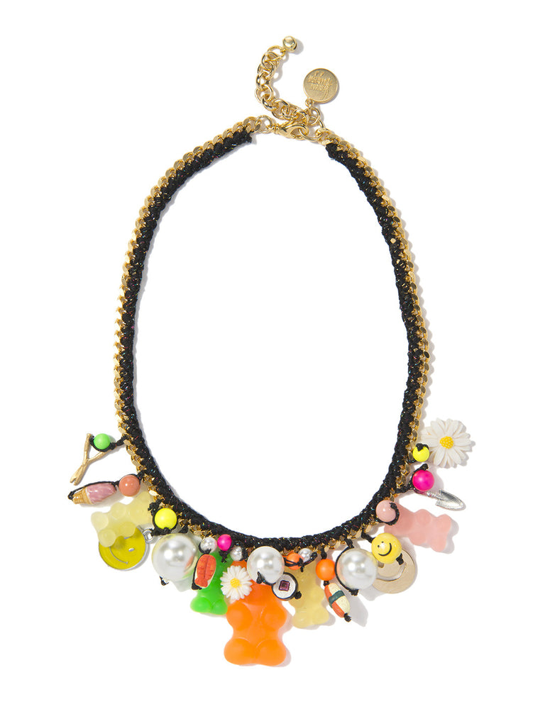 GUMMY IN MY TUMMY NECKLACE NECKLACE - Venessa Arizaga