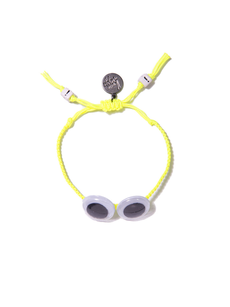 EYE SEE YOU BRACELET (NEON YELLOW) - Venessa Arizaga