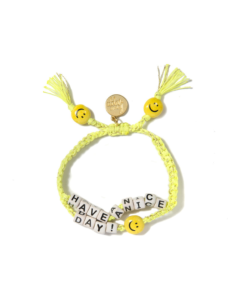 HAVE A NICE DAY BRACELET - Venessa Arizaga