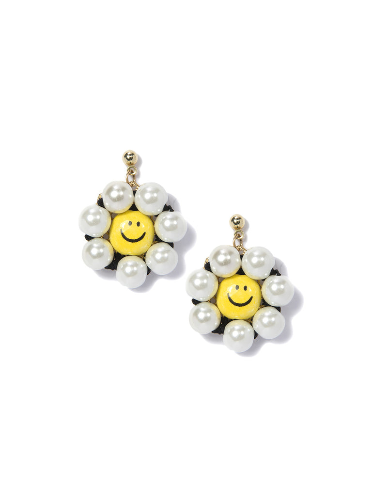 SUNSHINE DAISY EARRINGS - Venessa Arizaga