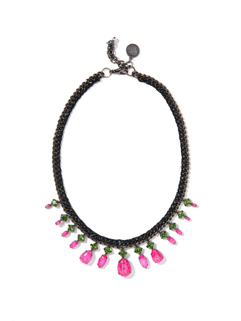 WASABI NECKLACE (PINK) NECKLACE - Venessa Arizaga