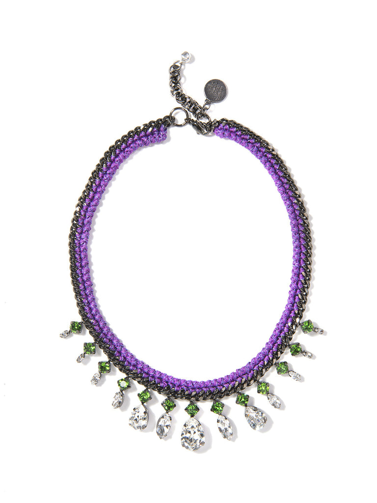 WASABI NECKLACE (PURPLE)