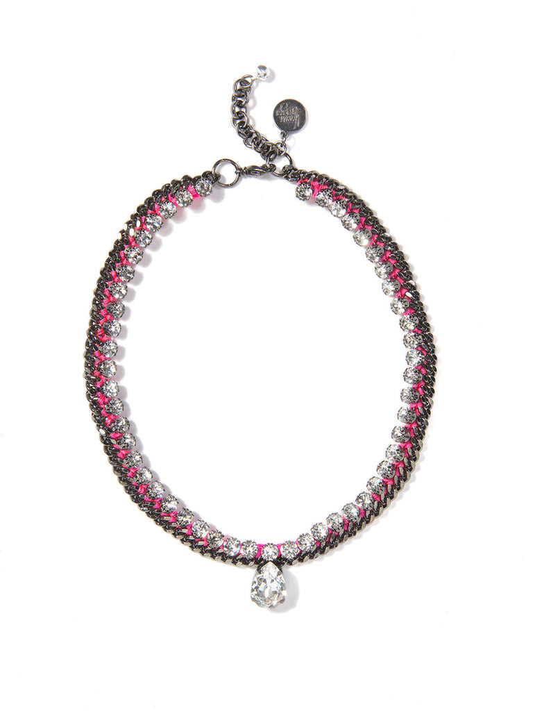 KONICHIWA NECKLACE (PINK) - Venessa Arizaga