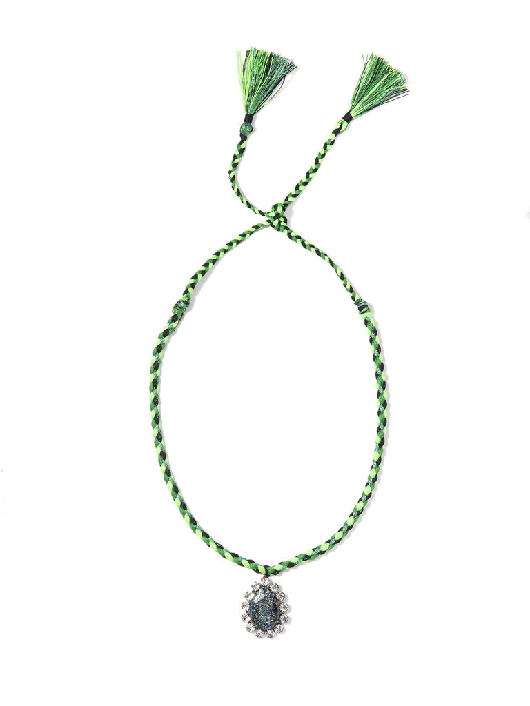 KUMI NECKLACE (GREEN)
