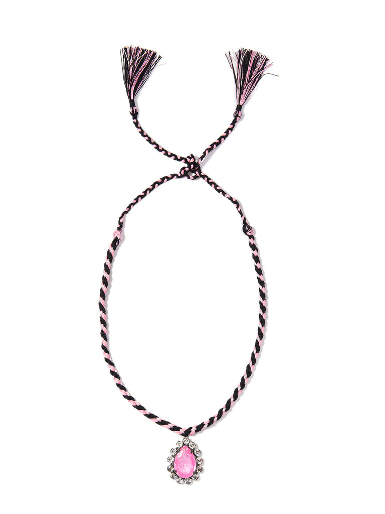 KUMI NECKLACE (PINK) - Venessa Arizaga