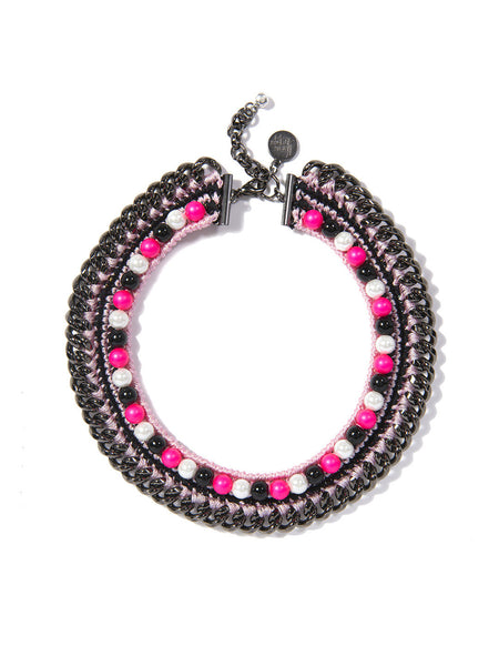 LUCEA NECKLACE (PINK)