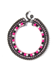 LUCEA NECKLACE (PINK) - Venessa Arizaga