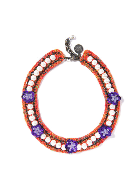 HANA NECKLACE (ORANGE)