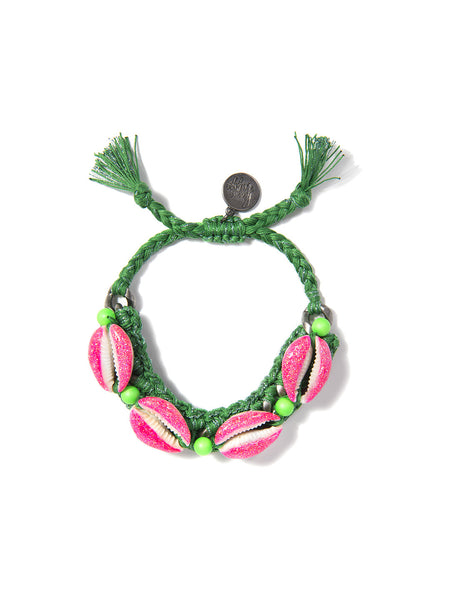 SHELL WE DANCE? BRACELET (GREEN)