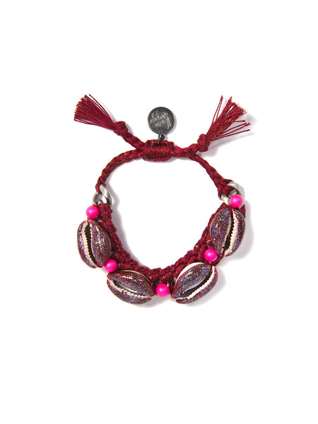 SHELL WE DANCE? BRACELET (RED)
