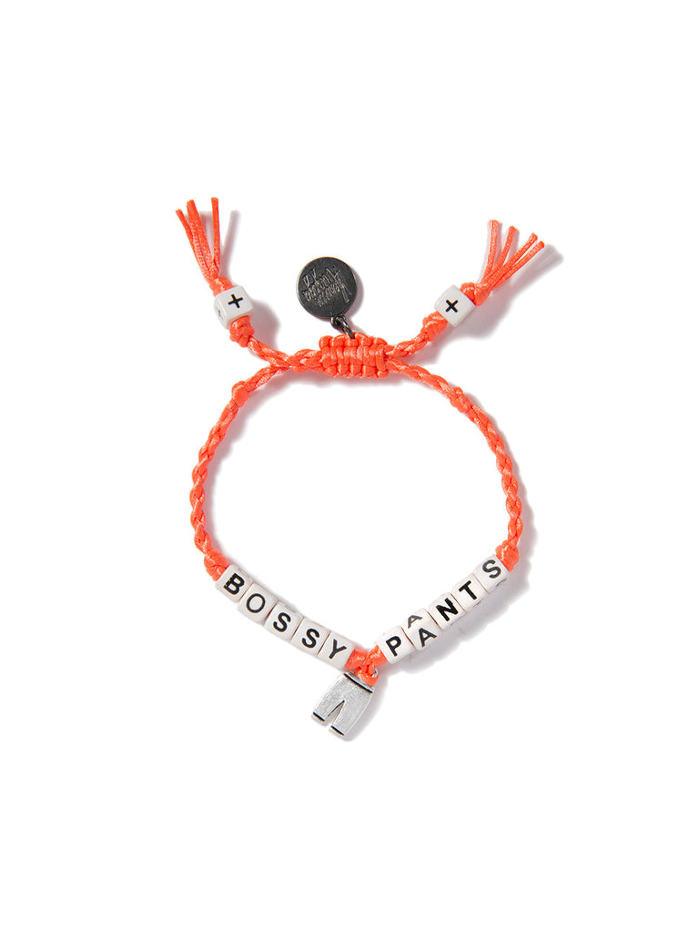 BOSSY PANTS BRACELET (ORANGE)