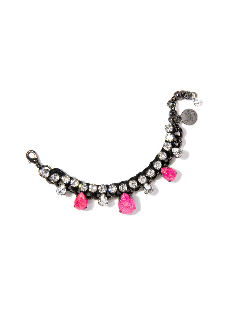 ALESHA BRACELET (PINK AND BLACK) - Venessa Arizaga
