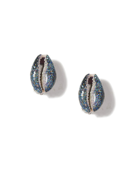 SHELL WE DANCE? EARRINGS (BLACK)