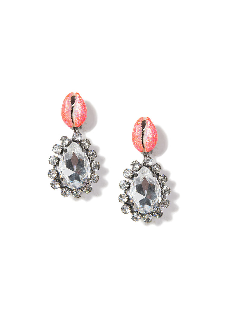 KUMI EARRINGS (ORANGE) EARRING - Venessa Arizaga