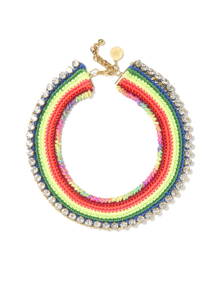 NEON RAINBOW ROAD NECKLACE