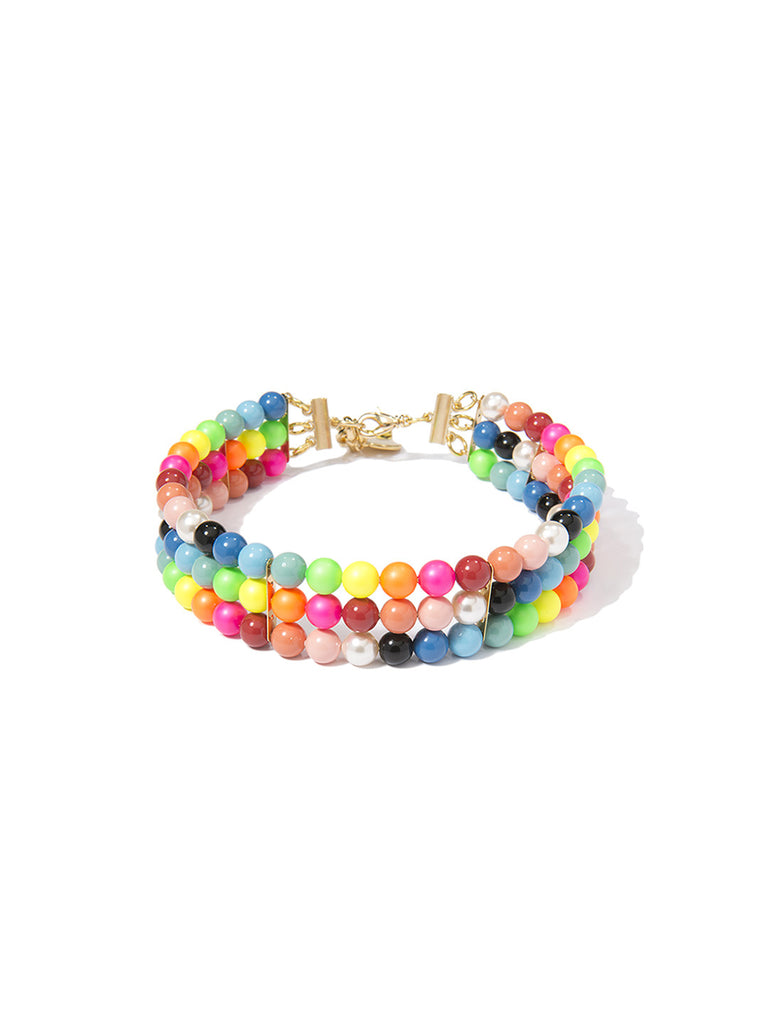 CANDY QUEEN PEARL CHOKER NECKLACE - Venessa Arizaga