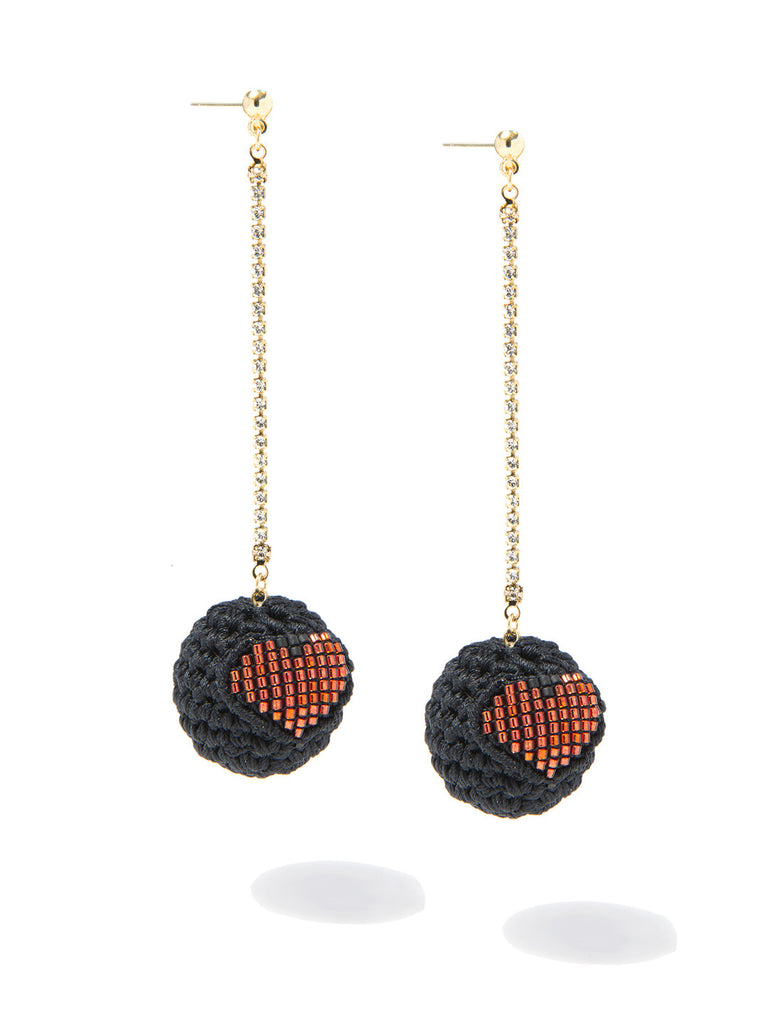 ADDICTED 2 LUV EARRINGS EARRING - Venessa Arizaga