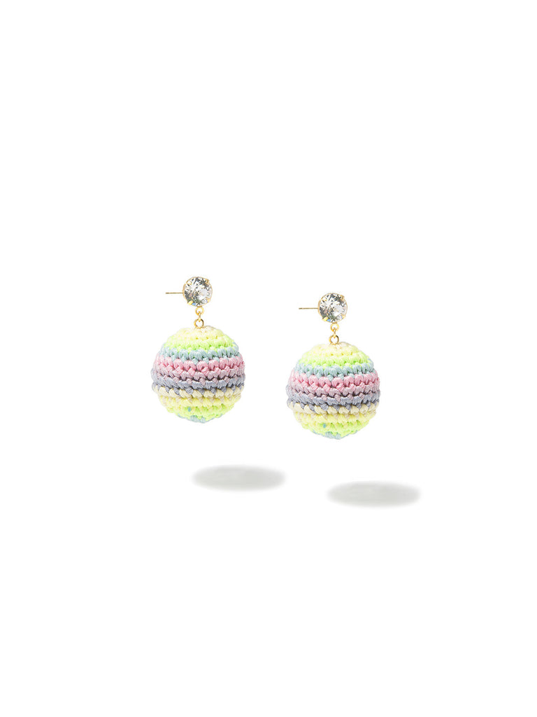 PASTEL RAINBOW ROAD EARRINGS EARRING - Venessa Arizaga