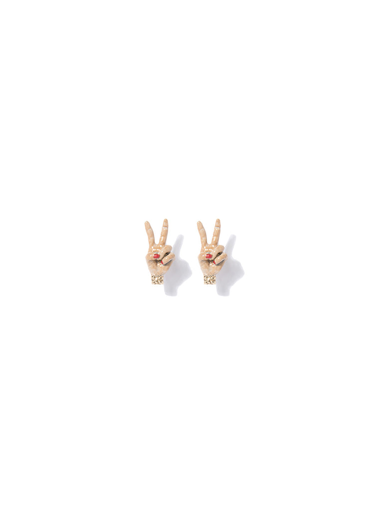 PEACE BABE EARRINGS EARRING - Venessa Arizaga