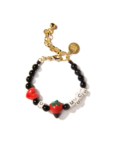 LOVE YOU BERRY MUCH PEARL BRACELET
