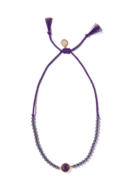 WILDBERRY NECKLACE (PURPLE)
