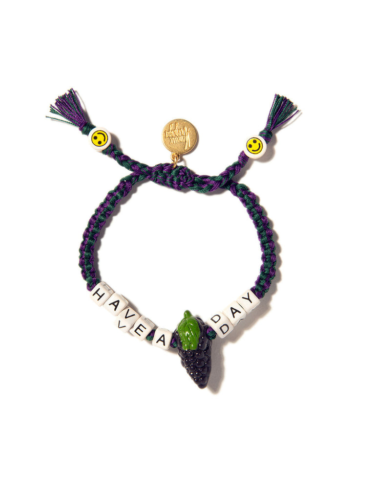 HAVE A GRAPE DAY BRACELET