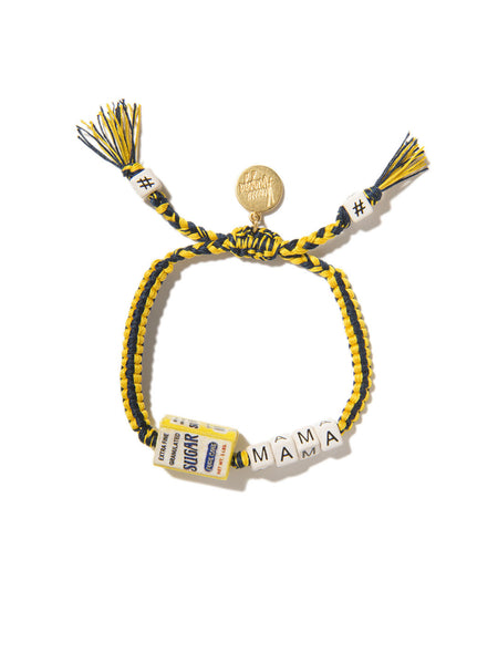 SUGAR MAMA BRACELET (BLUE AND YELLOW)