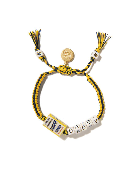 SUGAR DADDY BRACELET (BLUE AND YELLOW)