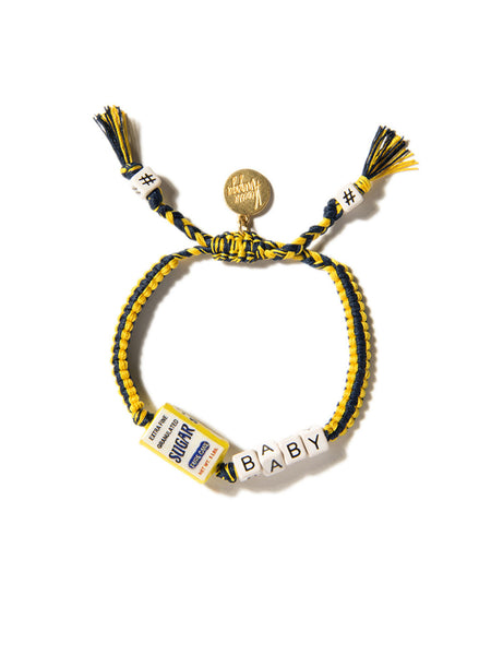 SUGAR BABY BRACELET (BLUE AND YELLOW)