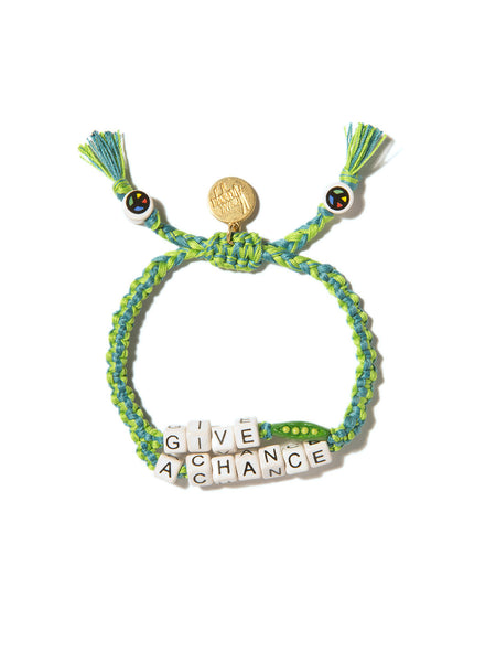 GIVE PEAS A CHANCE BRACELET