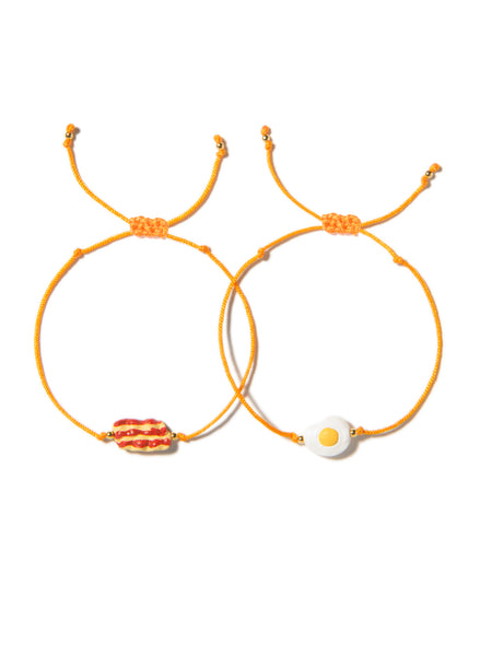BAE (BACON AND EGG) BRACELET SET