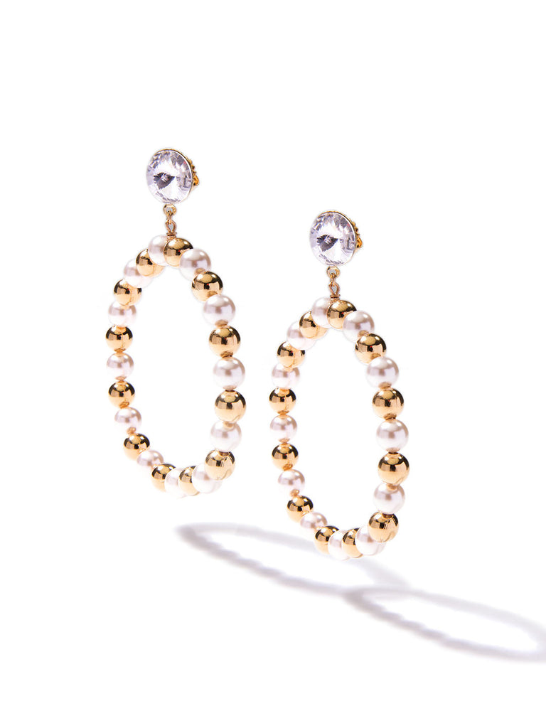HONEY HONEY PEARL EARRINGS