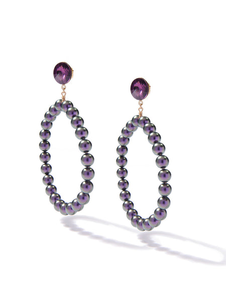SUGARPLUM PEARL EARRINGS