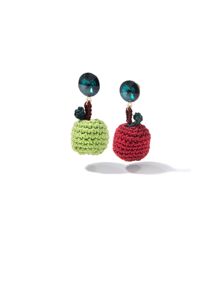AN APPLE A DAY EARRINGS