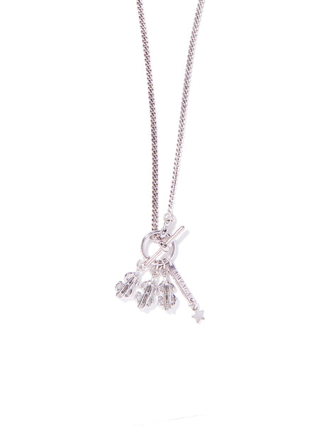MONEY MONEY MONEY NECKLACE (SILVER)