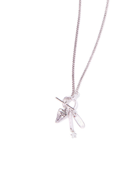 BEACH BREAK NECKLACE (SILVER)