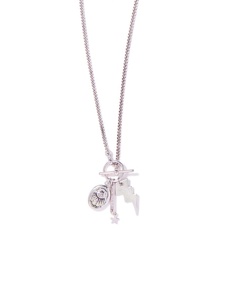 CHASING LIGHTNING NECKLACE (SILVER)