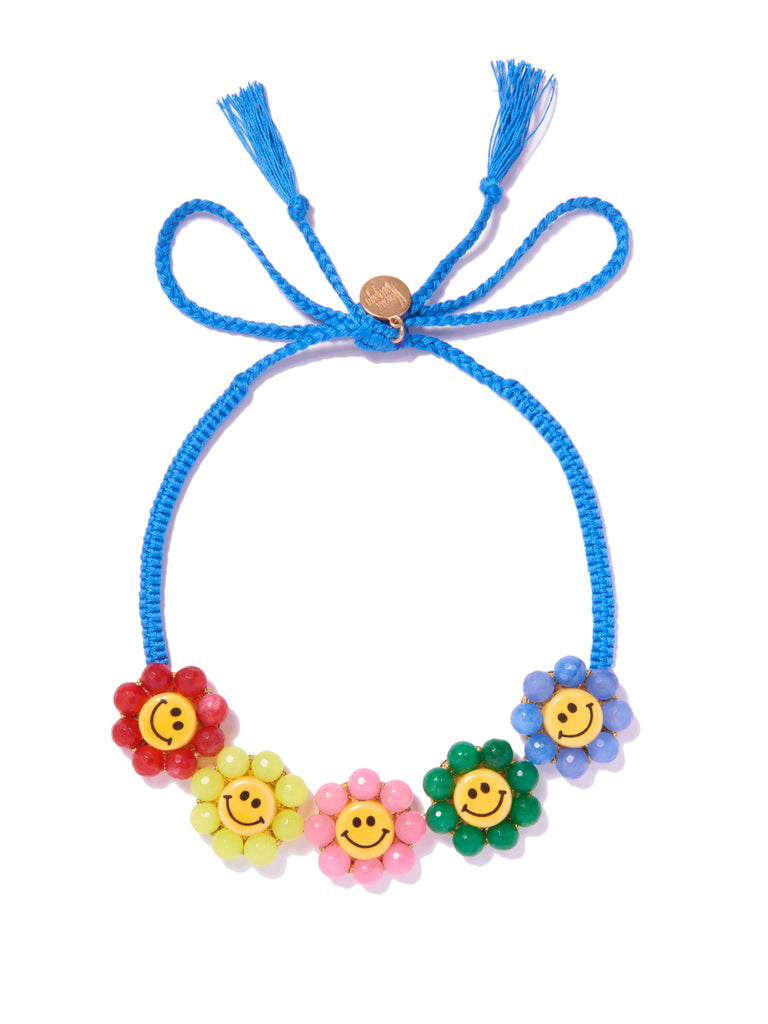 HAPPY FLOWERS NECKLACE