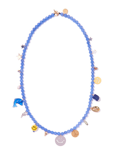 BLUE HAWAIIAN NECKLACE