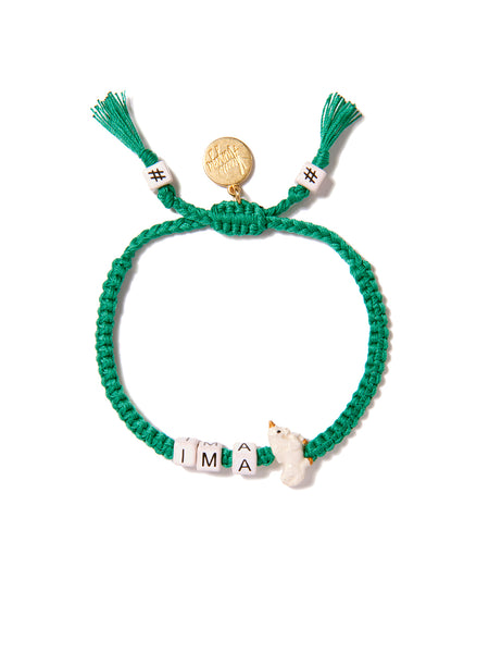 I'M A UNICORN BRACELET (GREEN)
