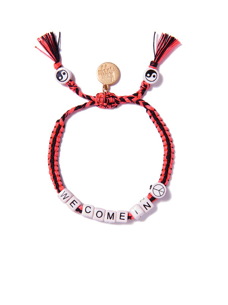 WE COME IN PEACE BRACELET