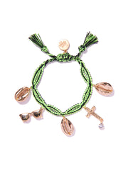 SEA'S THE DAY BRACELET (NEON GREEN)
