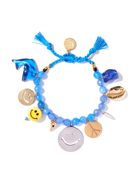BLUE HAWAIIAN BRACELET