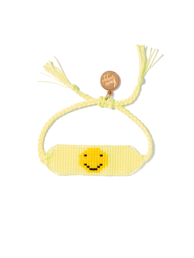 GET HAPPY BRACELET (NEON YELLOW)