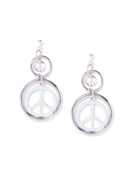 PEACEKEEPER EARRINGS (SILVER)