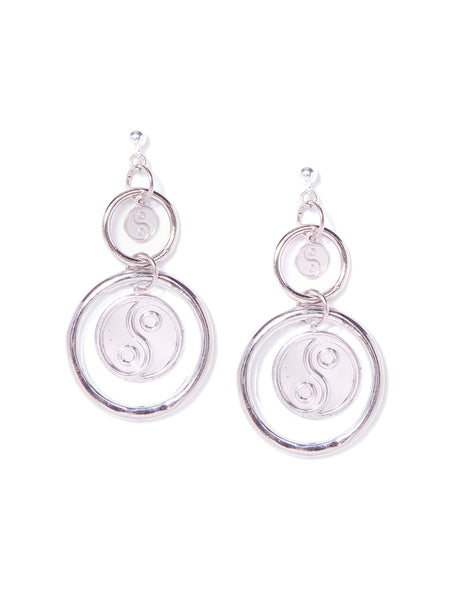 YINYANG EARRINGS (SILVER)